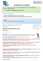 Leçon et exercice : S'approprier un environnement informatique de travail : CE2