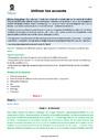 Séquence - Fiche de préparation Accents : CM1