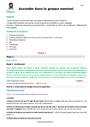 Séquence - Fiche de préparation Accord dans le groupe nominal : CM2