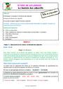Séquence - Fiche de préparation Accord de l'adjectif qualificatif : CE1