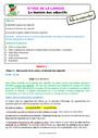 Séquence - Fiche de préparation Accord de l'adjectif qualificatif : CE2