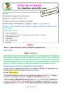 Séquence - Fiche de préparation Accord du nom / pluriels particuliers : CE1