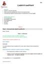 Séquence - Fiche de préparation Adjectif Qualificatif : CM1