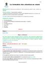 Séquence - Fiche de préparation Adverbes en -ment : CM2