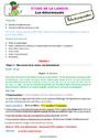 Séquence - Fiche de préparation Article et déterminant : CE1