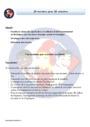 Séquence - Fiche de préparation Billets rituels : CM1