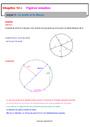 Séquence - Fiche de préparation Cercle et disque : 6ème
