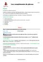 Séquence - Fiche de préparation Complément de phrase / complément circonstanciel : CM1