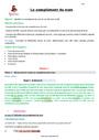 Séquence - Fiche de préparation Complément du nom : CM2