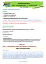 Séquence - Fiche de préparation Contenance, capacité litre : CE1