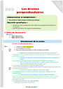 Séquence - Fiche de préparation Droites perpendiculaires : CM1