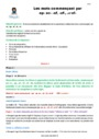 Séquence - Fiche de préparation Ecrire les sons difficiles : CM2