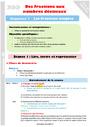 Séquence - Fiche de préparation Fractions : CM2