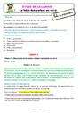Séquence - Fiche de préparation Futur de l'indicatif : CE2