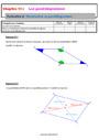 Séquence - Fiche de préparation Géométrie plane : 5ème