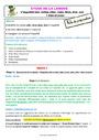 Séquence - Fiche de préparation Imparfait de l'indicatif : CE1