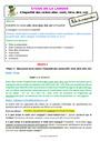 Séquence - Fiche de préparation Imparfait de l'indicatif : CE2