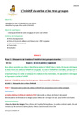 Séquence - Fiche de préparation Infinitif : CM1