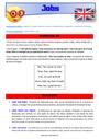 Séquence - Fiche de préparation Job / Shop - Anglais : CE2