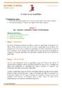 Séquence - Fiche de préparation L'espace : GS - Grande Section