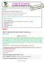 Séquence - Fiche de préparation M devant m, b, p : CE2