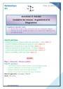 Séquence - Fiche de préparation Masse g, kg : CE1