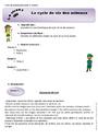 Séquence - Fiche de préparation Monde du vivant : CE2