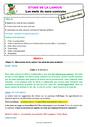 Séquence - Fiche de préparation Mots de sens contraire : CE1