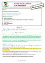 Séquence - Fiche de préparation Mots de sens contraire : CE2