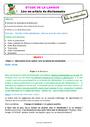 Séquence - Fiche de préparation Ordre alphabétique / Dictionnaire : CE2