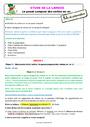 Séquence - Fiche de préparation Passé composé : CE1