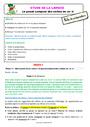 Séquence - Fiche de préparation Passé composé : CE2