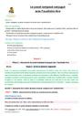 Séquence - Fiche de préparation Passé composé : CM1