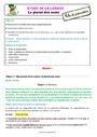 Séquence - Fiche de préparation Pluriels particuliers : CE2