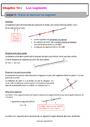 Séquence - Fiche de préparation Point, droite et segment : 6ème