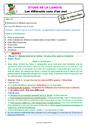 Séquence - Fiche de préparation Polysémie : CE1
