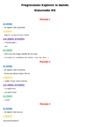 Séquence - Fiche de préparation Progressions / programmations : Maternelle - Cycle 1