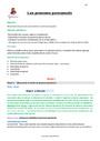 Séquence - Fiche de préparation Pronom : CM2
