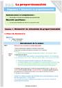Séquence - Fiche de préparation Proportionnalité : CM2