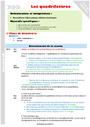 Séquence - Fiche de préparation Quadrilatères : CM1