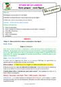 Séquence - Fiche de préparation Sens propre et figuré : CE2
