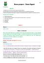 Séquence - Fiche de préparation Sens propre et figuré : CM2