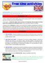 Séquence - Fiche de préparation Sport / Hobbies - Anglais : CM1