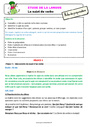 Séquence - Fiche de préparation Sujet, groupe sujet : CE2
