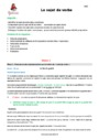 Séquence - Fiche de préparation Sujet, groupe sujet : CM2