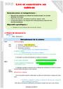 Séquence - Fiche de préparation Tableaux : CM1