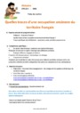 Séquence - Fiche de préparation Traces d'une occupation ancienne du territoire français : CM1
