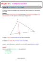Séquence - Fiche de préparation Triangles : 6ème