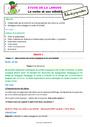 Séquence - Fiche de préparation Verbe et son infinitif : CE2