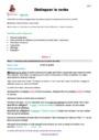 Séquence - Fiche de préparation Verbe, groupe verbal : CM2